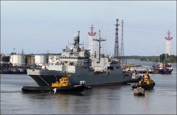 Новейший десантный корабль завершил госиспытания наБалтике