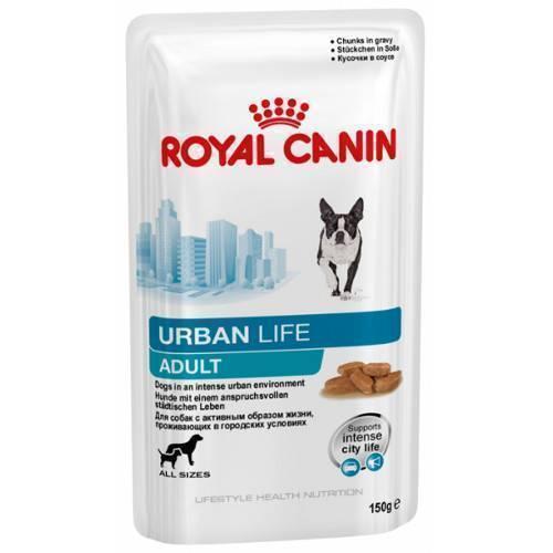 Корм royal canin urban life s