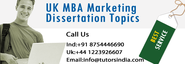 Buy marketing dissertation