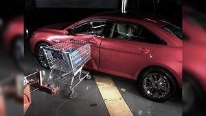 Какоформить ДТПстележкой супермаркета