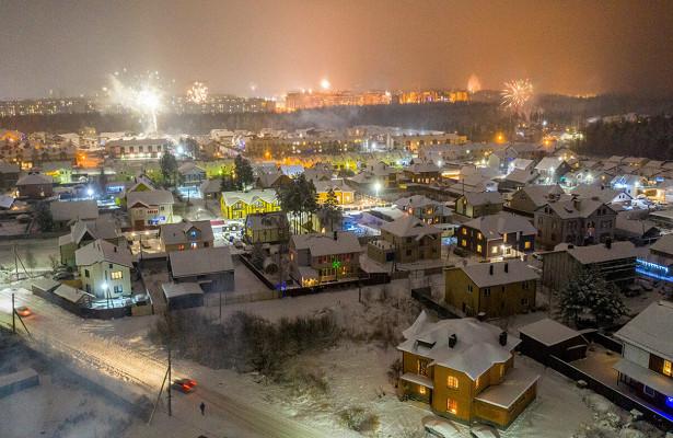ВСети появились фото ивидео праздничного Петрозаводска свысоты птичьего полета