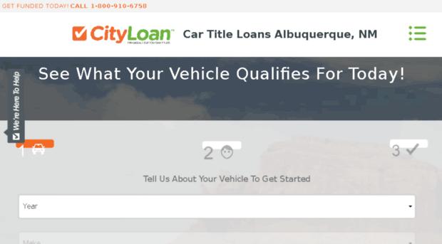 Albuquerque title loans