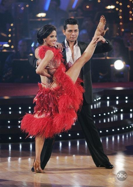 DWTS' duo Val and Janel awkwardly address romance rumors
