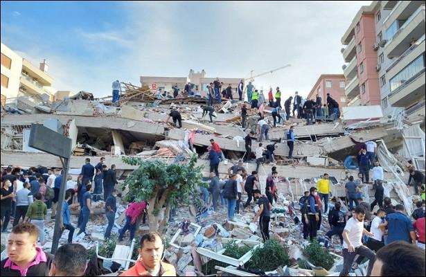 Землетрясение вТурции привело кжертвам