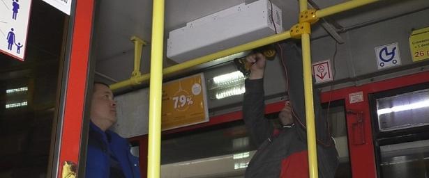 Кировские автобусы обзавелись рециркуляторами воздуха