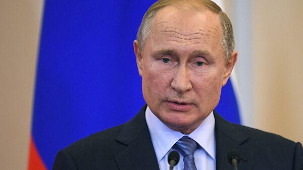 Путин прибыл вСаров