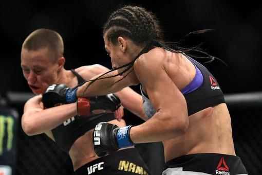 Чемпионка UFCНамаюнас защитит титул вбоюсбразильянкой Андраде