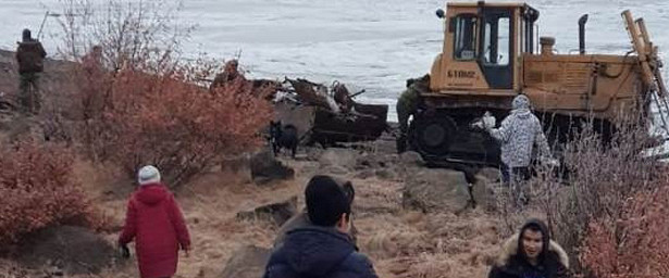 НаЧукотке прошла экологическая акция: вывезли 20тонн мусора сберега реки Анадырь