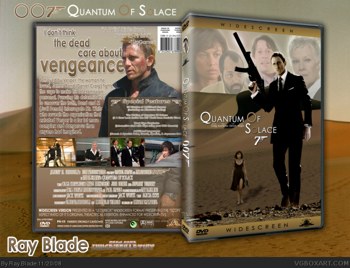 Quantum of Solace - Full Movie Download and Watch Online