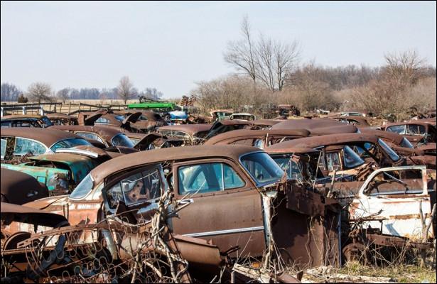 Пропавшую 20летназад машину нашли там, гдеееприпарковал владелец