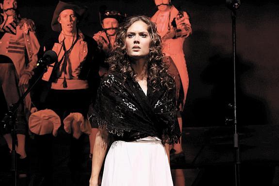 Актриса Алёна Митрошина: Я— восьмая Кончита вистории «Юноны иАвось»