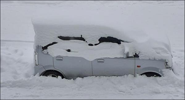 Снегопад парализовал жизнь Крыма