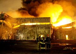 ВПермском крае загорелся магазин лакокрасочных изделий