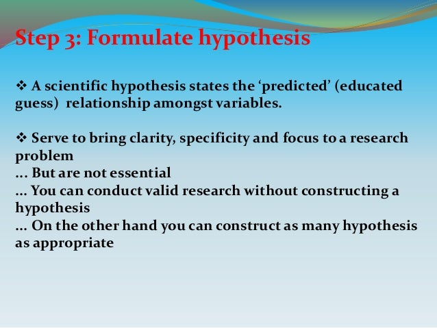 Null and Alternative Hypothesis - Real Statistics Using