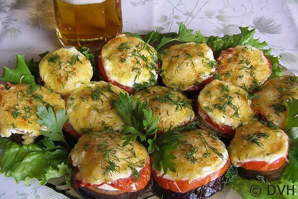 Баклажаны рецепты фото праздничный
