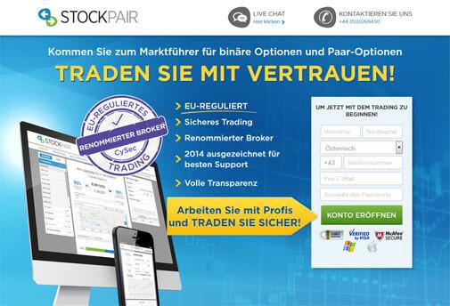stockpair deutsche regulierung