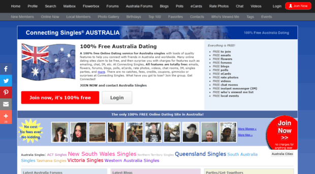Australia dating site 100 free