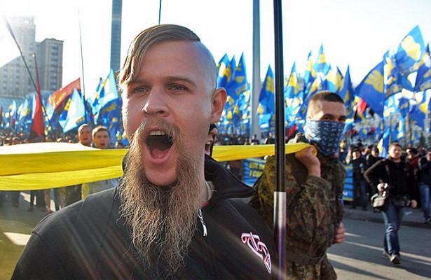 ВКиеве произошли столкновения полиции снационалистами