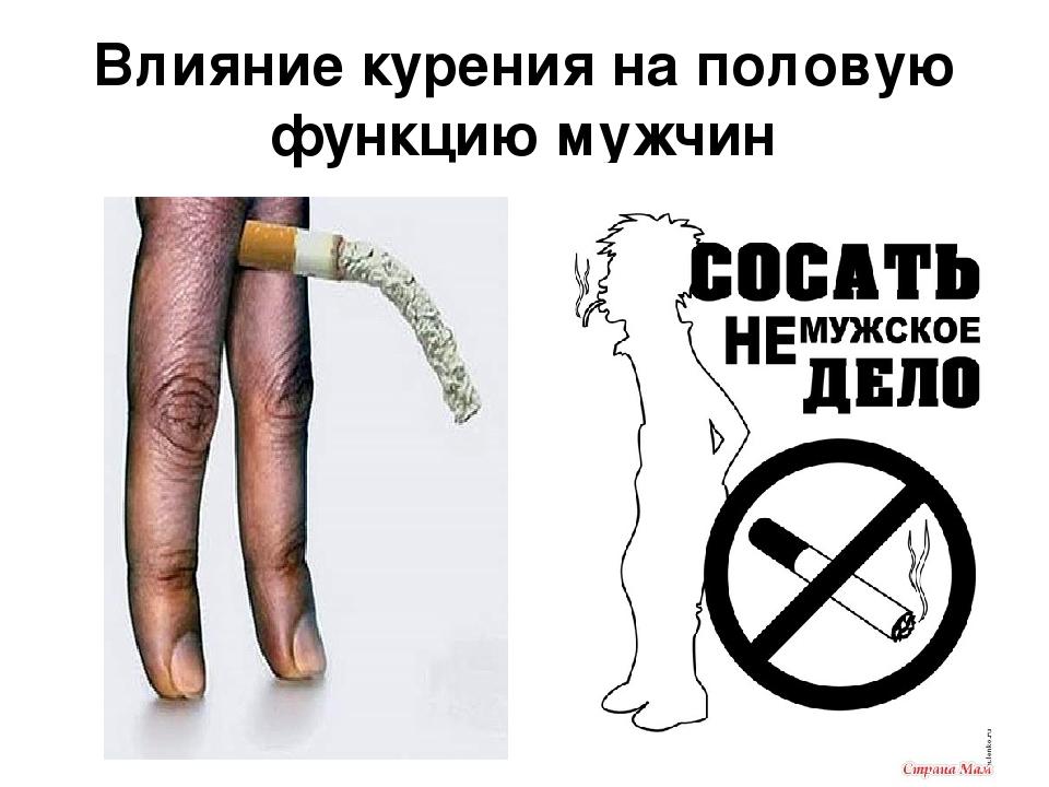 Вред курения для мужчин импотенция