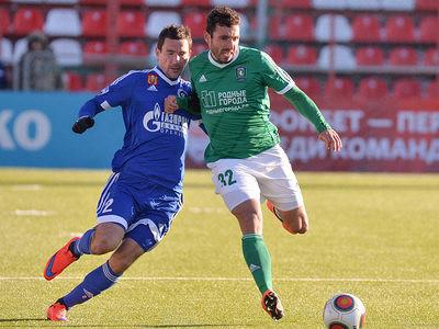 «Оренбург» вматче с«Томью» одержал первую победу вРФПЛ, Нехайчик оформил хет-трик