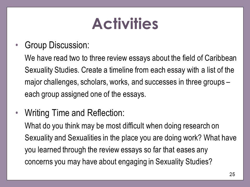 Write My Sexuality Essays