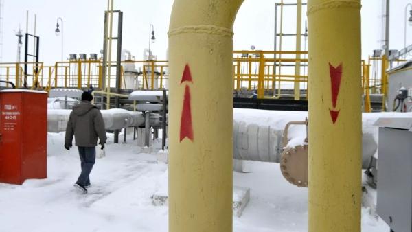 Транзит газа изРоссии через Украину упал доминимума за30лет