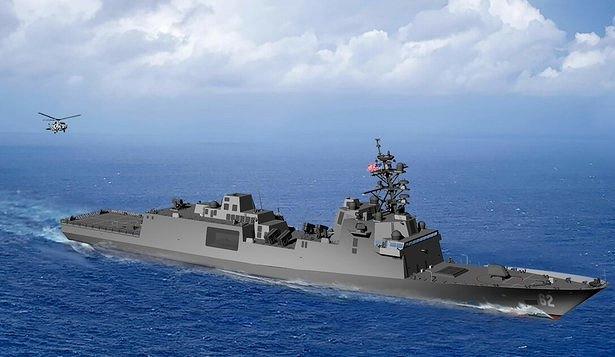 Новый фрегат СШАбудет стоить 1,2млрд долларов