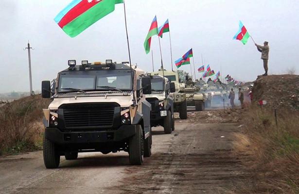 Российские миротворцы обеспечили контроль выполнения трехстороннего соглашения припереходе контроля надКельбаджарским районом