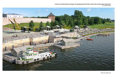 ВВеликом Новгороде обсуждают новую концепцию обустройства набережных