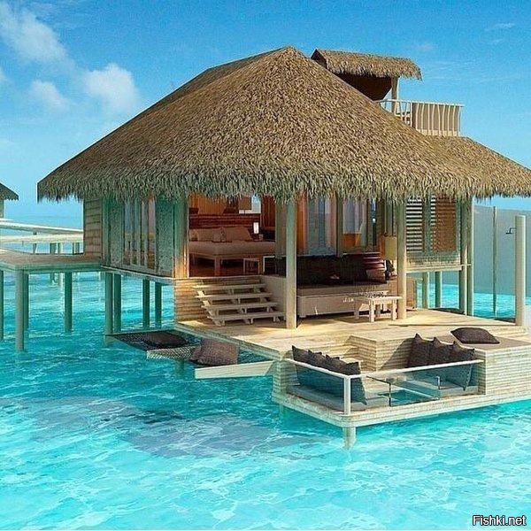Дом на берегу моря остров Сими