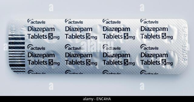 Diazepam 10 mg blister