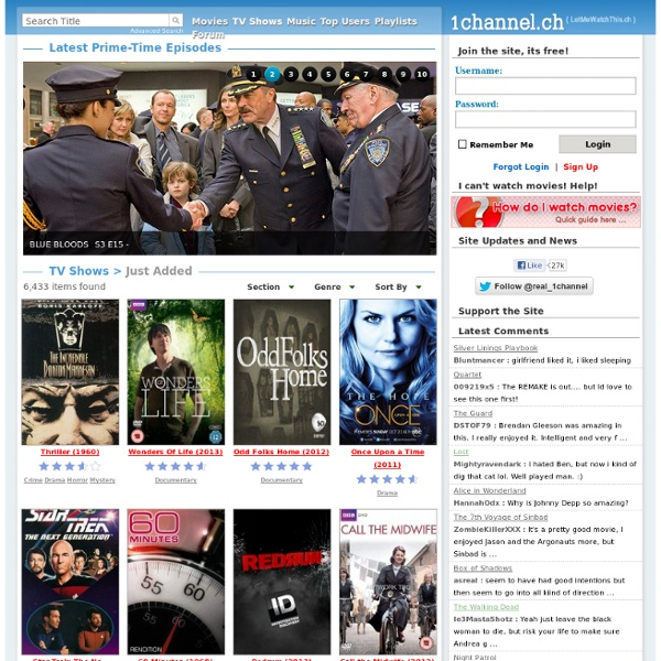 USA Movies - 1Channel - PrimeWire - LetMeWatchThis