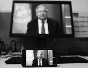 Генсек ООНзаявил овеличайшем гуманитарном кризисе соВторой мировой