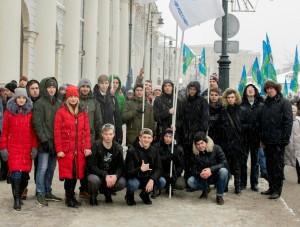 Митинг-концерт «Россия внаших сердцах» посетили студенты МГАВТ