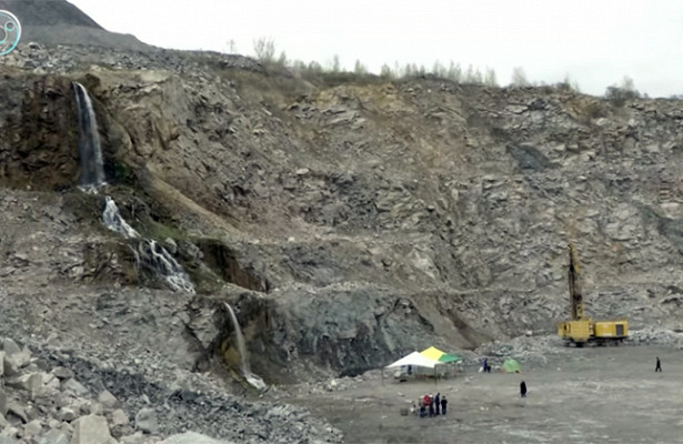 Наднекарьера Борок состязались будущие геологи
