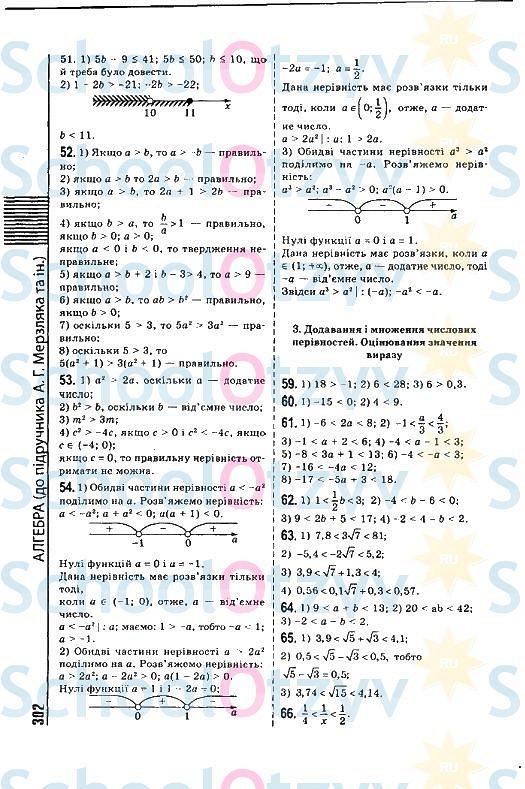 Гдз по математике 7 класс мерзляк сборник