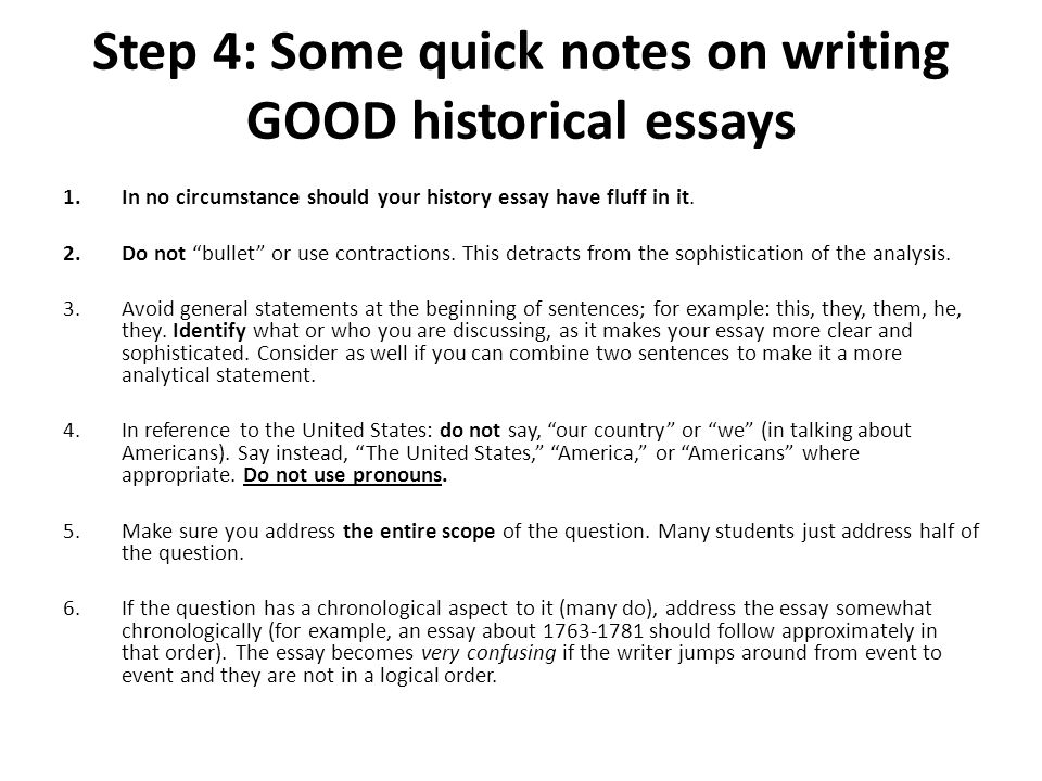 Write my history thesis