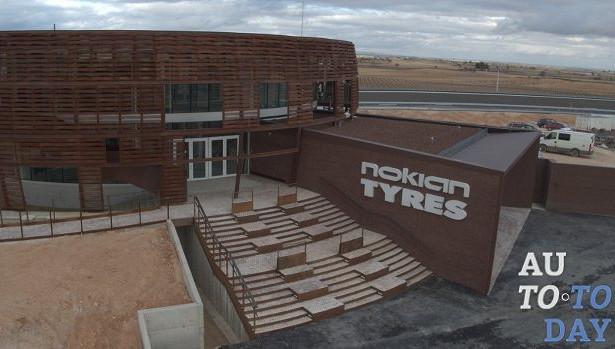 Nokian Tyres вИспании активно готовит новый современный полигон