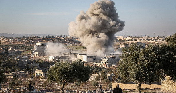 Боевики засутки совершили 37обстрелов вИдлибской зоне деэскалации