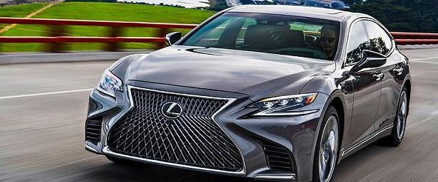 Обновленная версия Lexus LSпоступила впродажу