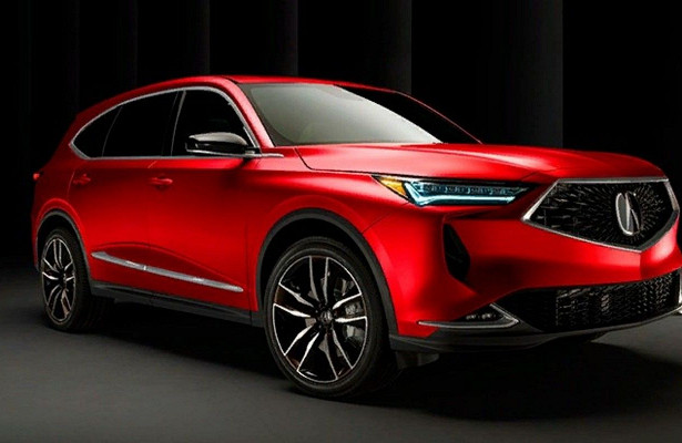 Acura официально представила прототип Acura MDX