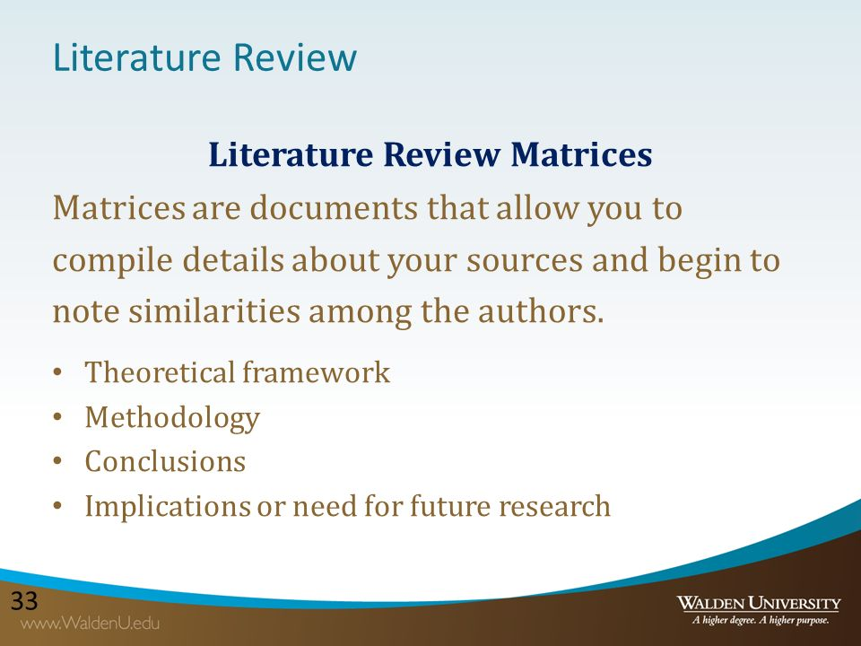 What is a Literature Review? - Explorablecom