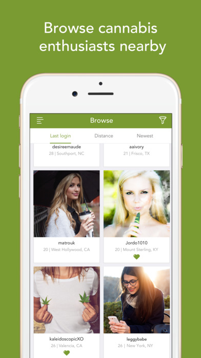 Cannabis Dating-Apps - zambezade