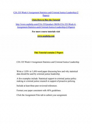 Buy leadership assignment