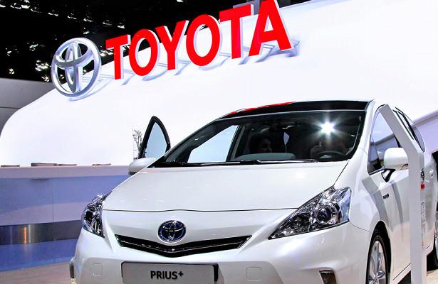 Самой продаваемой маркой автомобилей вмире стала Toyota