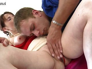 Husband shoots cum on his face