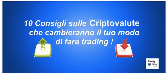 consigli per fare trading sulle opzioni binarie