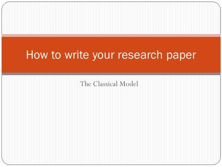 Write My Paper 123 - Custom Paper Writing Service
