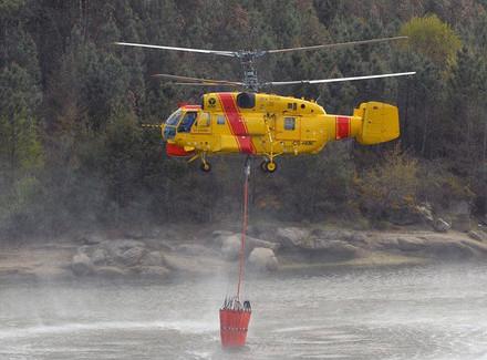 Сначала 2021 года вертолеты Ростеха помогли бороться спожарами в11странах