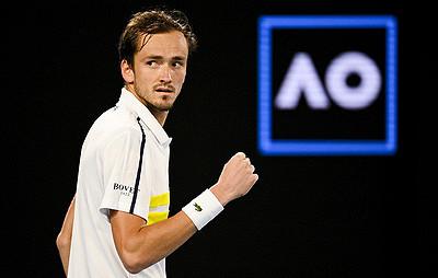 Медведев вышел натретье место врейтинге ATP